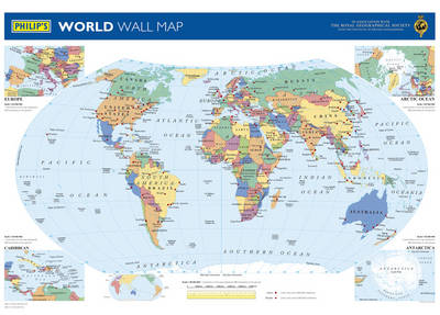 Philip's World Wall Map (BOK)