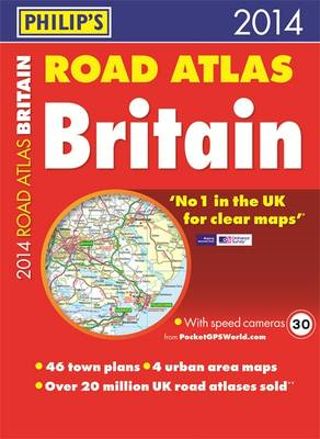 Philip's Road Atlas Britain: 2014 (BOK)