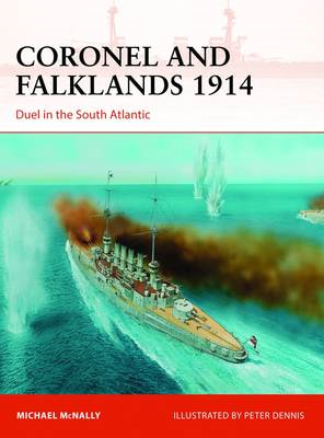 Coronel and Falklands, 1914: Duel in the South Atlantic (BOK)
