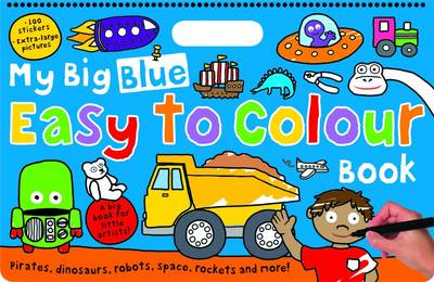 My Big Blue Easy to Colour Book (BOK)