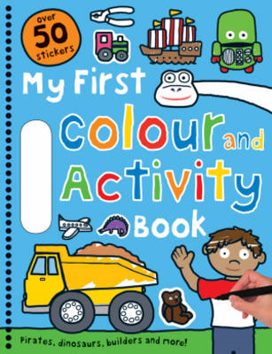 Blue Colour and Activity Book (BOK)