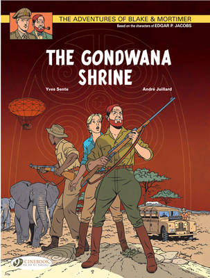 Adventures of Blake and Mortimer: The Gondwana Shrine Vol 11 (BOK)