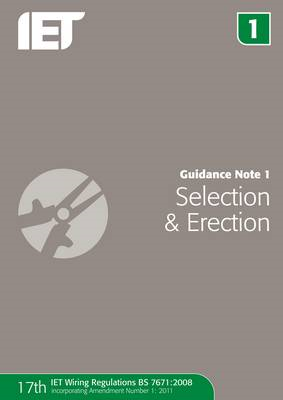 Guidance Note 1: Selection & Erection (BOK)