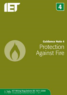 Guidance Note 4: Protection Against Fire (BOK)