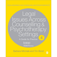 Legal Issues Across Counselling & Psychotherapy Settings (BOK)