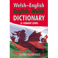 Welsh - English, English - Welsh Dictionary (BOK)