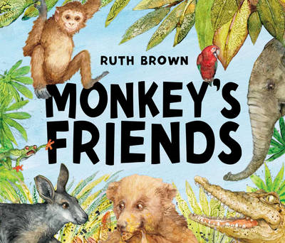 Monkey's Friends (BOK)