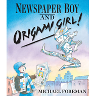Newspaper Boy and Origami Girl (BOK)