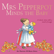 Mrs Pepperpot Minds the Baby (BOK)