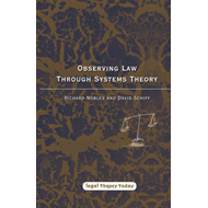 Observing Law Through Systems Theory (BOK)