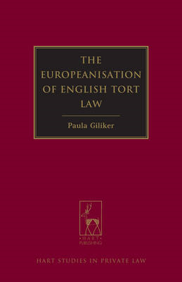 Europeanisation of English Tort Law (BOK)