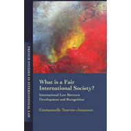 What is a Fair International Society: International Law Between Development and Recognition (BOK)