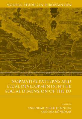 Normative Patterns and Legal Developments in the Social Dimension of the EU (BOK)