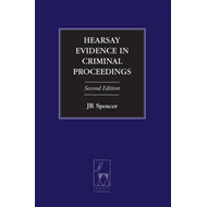 Hearsay Evidence in Criminal Proceedings (BOK)