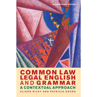 Common Law Legal English and Grammar (BOK)