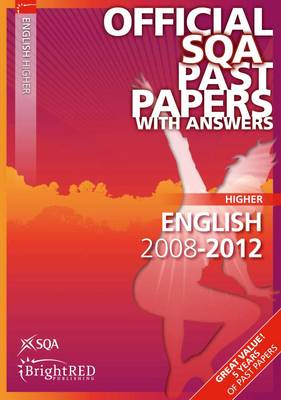 English Higher SQA Past Papers: 2012 (BOK)