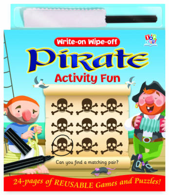 Write-on Wipe-off Pirate Activity Fun (BOK)