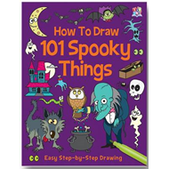 How to Draw 101 Spooky Things (BOK)