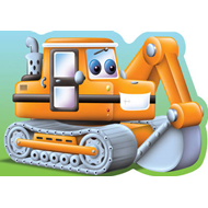 Digger: Chunky Big Vehicles (BOK)