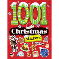 1001 Christmas Stickers (BOK)