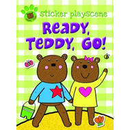 Ready Teddy Go!: Sticker and Activity with Fold-out Playscene (BOK)