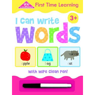 FTL Wipe Clean I Can Write Words (BOK)