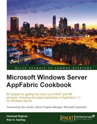 Microsoft Windows Server AppFabric Cookbook (BOK)