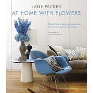 Jane Packer at Home with Flowers (BOK)