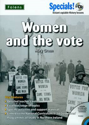 Secondary Specials!: History - Women & the Vote (BOK)