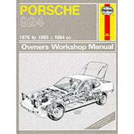 Porsche 924 and Turbo 1976-85 Owner's Workshop Manual (BOK)