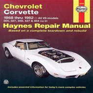 Chevrolet Corvette 1968-82 Automotive Repair Manual (BOK)