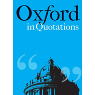 Oxford in Quotations (BOK)