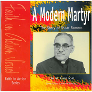 A Modern Martyr: The Story of Oscar Romero (BOK)