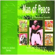Man of Peace: The Story of Mahatma Gandhi (BOK)