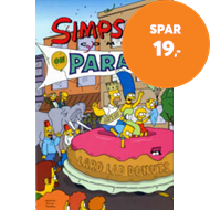 Produktbilde for The Simpsons Comics on Parade (BOK)