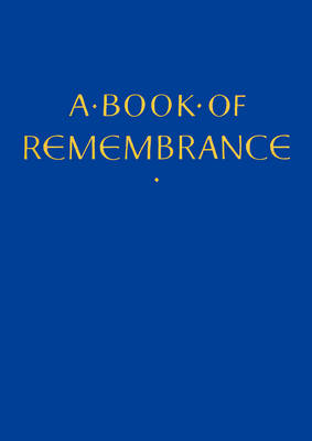 A Book of Remembrance (BOK)