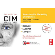 CIM Revision Cards: Assessing the Marketing Environment (BOK)