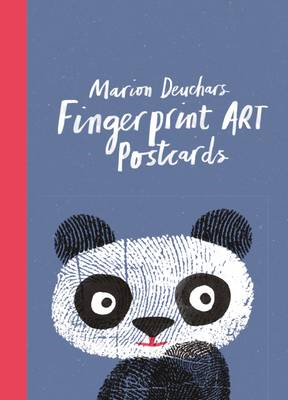 Fingerprint Art Postcards (BOK)