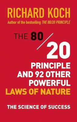 80/20 Principle and 92 Other Powerful Laws of Nature (BOK)