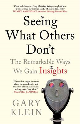 Seeing What Others Don't (BOK)