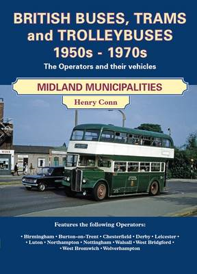 British Buses and Trolleybuses 1950s-1970s (BOK)