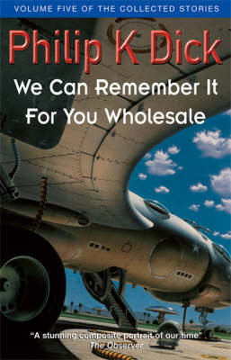 We Can Remember It For You Wholesale (BOK)