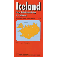 Iceland National Road Map (BOK)