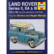 Land Rover Series 2, 2A and 3 1958-85 Service and Repair Manual (BOK)