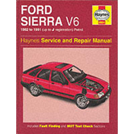 Ford Sierra V6 Service and Repair Manual (BOK)