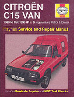 Citroen C15 Van Service and Repair Manual (BOK)