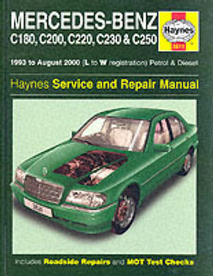 Mercedes-Benz C-class Petrol and Diesel (1993-2000) Service and Repair Manual (BOK)