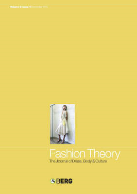 Fashion Theory: The Journal of Dress, Body and Culture: Anthropology Put to Work (BOK)