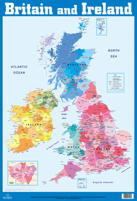 British Isles and Ireland Wall Chart (BOK)
