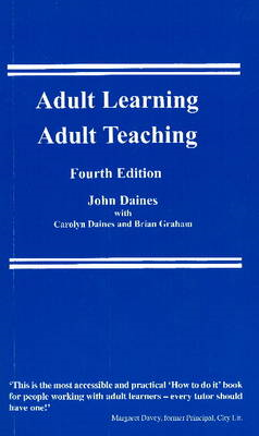 Adult Learning, Adult Teaching (BOK)
